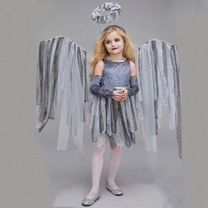 Chasing Fireflies Girls' Dark Angel Costume size 8